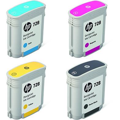 HP HP728STDVAL 728 Ink Multipack K (69ml) CMY (40ml)