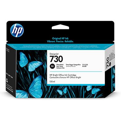 HP P2V67A 730 Photo Black DesignJet Ink Cartridge (130ml)