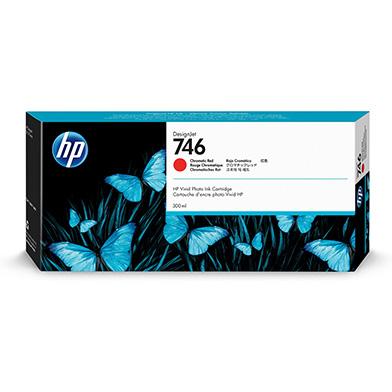 HP P2V81A 746 Chromatic Red Ink Cartridge (300ml)