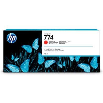 HP 774 Chromatic Red Ink Cartridge (775ml)