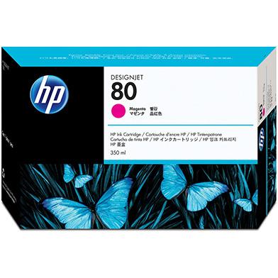 HP C4847A No.80 Magenta Ink Cartridge 350ml