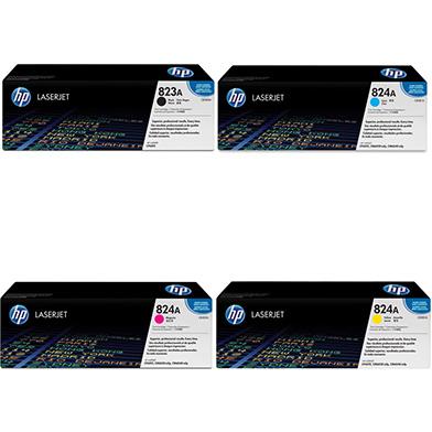 HP  823A/824A Toner Rainbow Pack CMY (21k) + Black (16.5k)