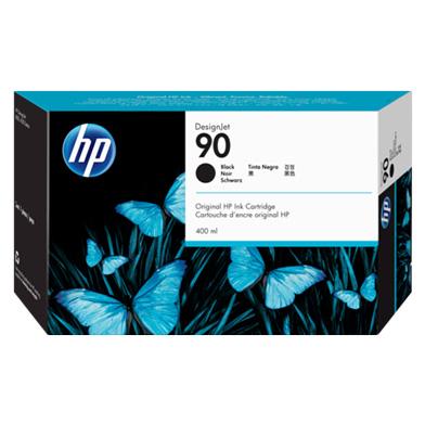 HP C5058A No.90 Black Ink Cartridge (400ml)