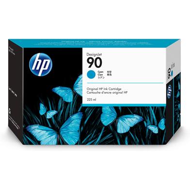 HP C5060A No.90 Cyan Ink Cartridge (225ml)