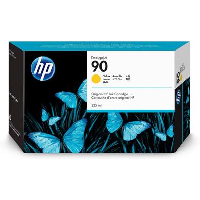 HP No.90 Yellow Ink Cartridge (225ml)