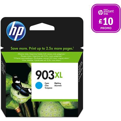 HP 903XL Cyan Original Ink Cartridge (825 Pages)