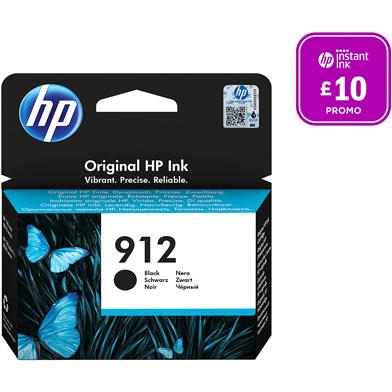 HP 3YL80AE 912 Black Ink Cartridge (300 Pages)