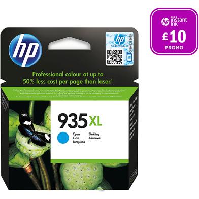 HP 935XL Cyan Ink Cartridge (825 Pages)