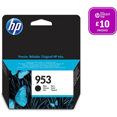 HP 953 Black Ink Cartridge (1,000 Pages)