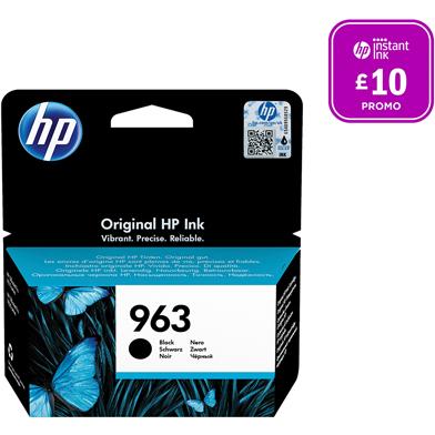 HP 3JA26AE 963 Black Ink Cartridge (1,000 Pages)