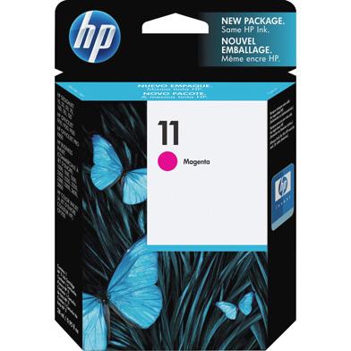 HP C4837AE 11 Magenta Ink Cartridge (2,000 Pages)