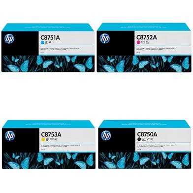 HP HPC875INKVAL C875 CMYK Ink Cartridge Bundle Pack (4 x 775ml)