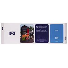 HP C1807A Cyan Ink Cartridge (410ml)