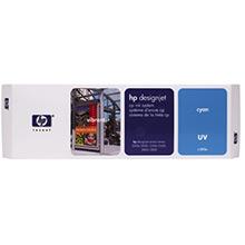 HP C1893A Cyan UV Ink Cartridge (410ml)