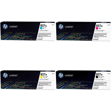 HP 827A Toner Rainbow Pack CMY (32K) K (29.5K)