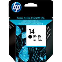 HP C5011DE No.14 Black Ink Cartridge (23ml)