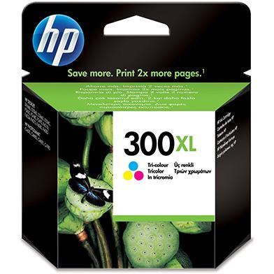 HP CC644EE No.300XL Tri-colour Ink Cartridge (440 pages)