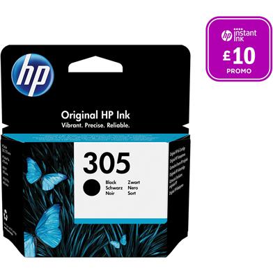 HP 305 Black Ink Cartridge (120 Pages)