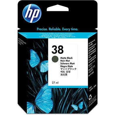 HP No.38 Matte Black Ink Cartridge (3,200 Pages)