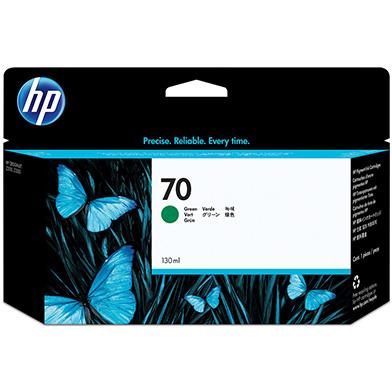 HP No.70 Green Ink Cartridge (130ml)