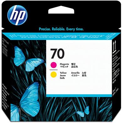HP C9406A No.70 Magenta and Yellow Printhead