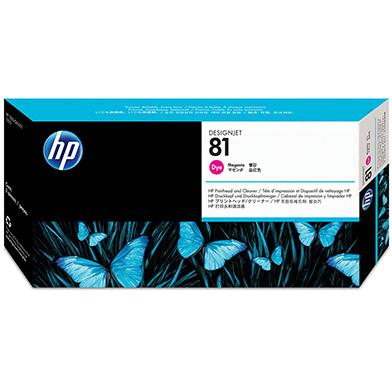 HP C4952A No.81 Magenta Dye Printhead and Printhead Cleaner
