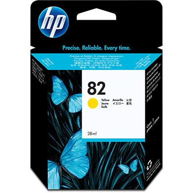 HP No.82 Yellow Ink (28ml)