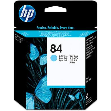 HP No.84 Light Cyan Printhead
