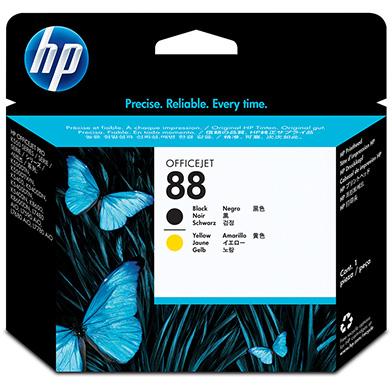 HP C9381A No.88 Black and Yellow Printhead