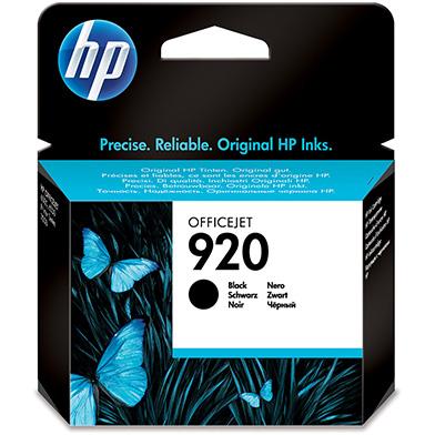 HP CD971AE No.920 Black Ink Cartridges (420 Pages)