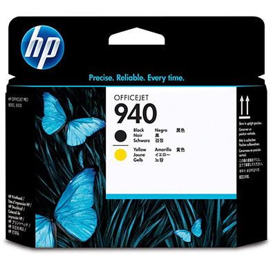 HP C4900A No.940 Black and Yellow Printhead