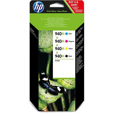 HP C2N93AE 940XL Ink Cartridge Multipack CMYK (2,200 Pages)