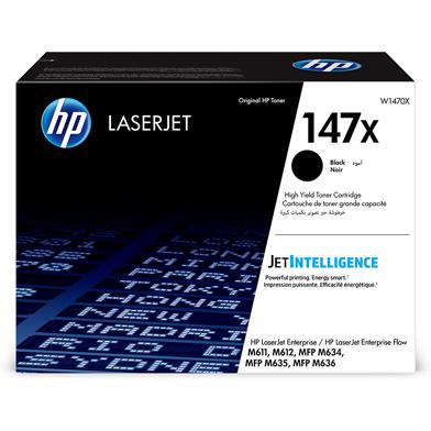 HP W1470X 147X High Capacity Black Toner Cartridge (25,200 Pages)