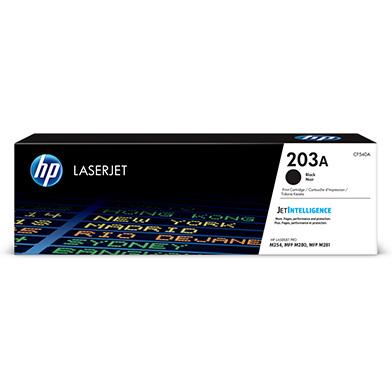 HP CF540A 203A Black Toner Cartridge (1,400 Pages)
