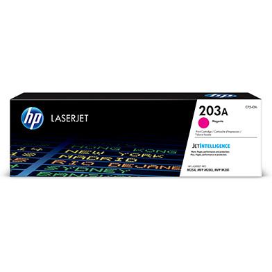 HP CF543A 203A Magenta Toner Cartridge (1,300 Pages)