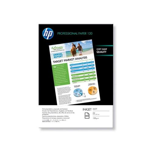 HP Q6593A Professional Matte A4 Inkjet Paper (200 Sheets)