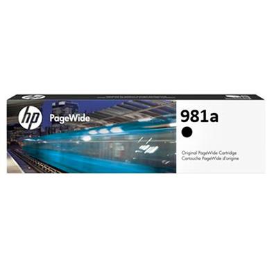 HP J3M71A 981A Black Original PageWide Ink Cartridge (6,000 Pages)