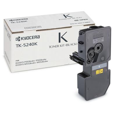 Kyocera 1T02R70NL0 TK-5240K Black Toner Cartridge (4,000 Pages)