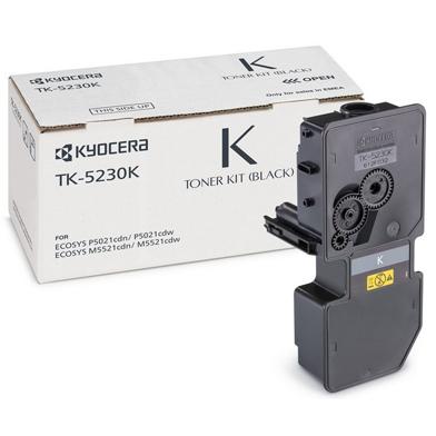 Kyocera 1T02R90NL0 TK-5230K Black Toner Cartridge (2,600 Pages)