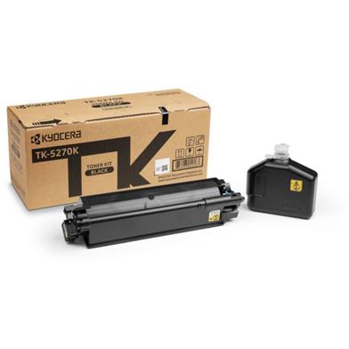 Kyocera 1T02TV0NL0 TK-5270K Black Toner Cartridge (8,000 Pages)