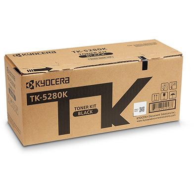 Kyocera 1T02TW0NL0 TK-5280K Black Toner Cartridge (13,000 Pages)