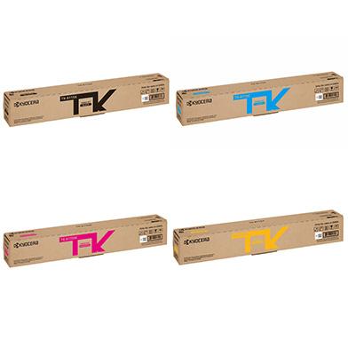 Kyocera  TK-8115 Toner Bundle Pack K (12K Pages) CMY (6K Pages)