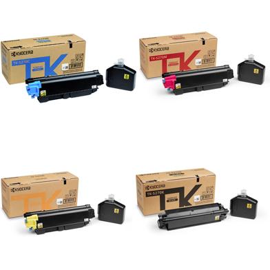 Kyocera  TK-5270 Bundle Pack K (8,000 Pages) CMY (6,000 Pages)