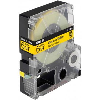 Epson LC-2YBP9 Black/Yellow 6mm (9m) tape