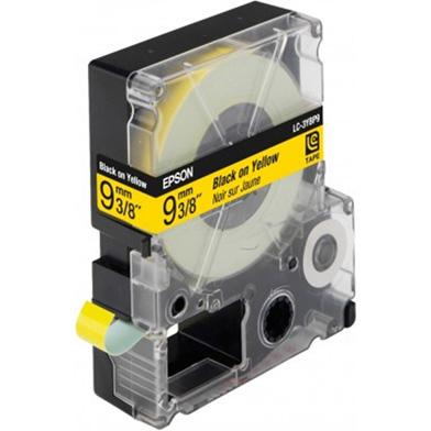 Epson LC-3YBP9 Black/Yellow 9mm (9m) tape