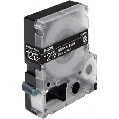 Epson LC-4BWV9 White/Black Label Tape 12mm (9m) tape