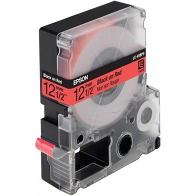 Epson LC-4RBP9 Black/Red 12mm (9m) tape