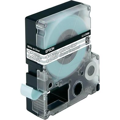 Epson LC-4TWN9 Transparent White/transparent 12mm (9m) tape