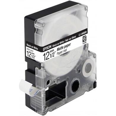 Epson LC-4WBB9 Black/White 12mm (9m) tape