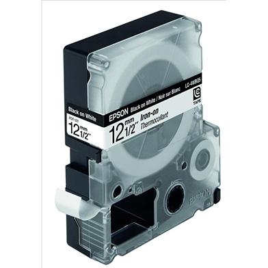 Epson LC-4WBQ5 Black/White 12mm (5m) tape